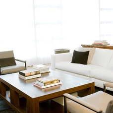 Modern Living Room by NICOLEHOLLIS