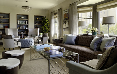 Divide and Conquer: How to Furnish a Long, Narrow Room