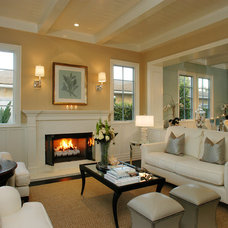 Traditional Living Room by DTM INTERIORS
