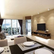 Modern Living Room by S.I.D.Ltd.