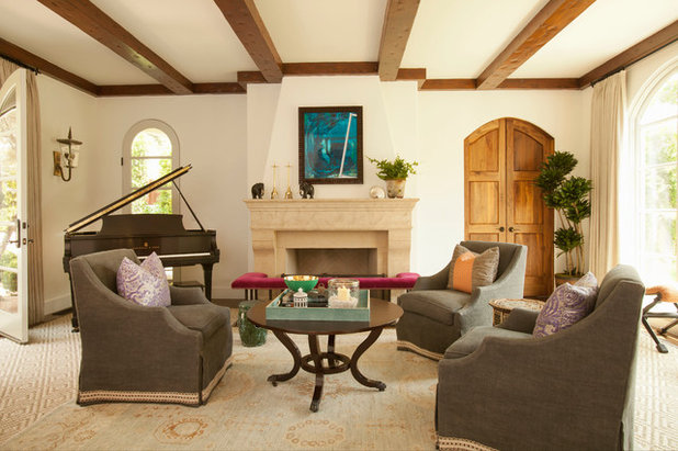 Contemporary Living Room by Bonesteel Trout Hall