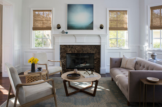 New This Week 3 Ways to Work Around a Living Room Fireplace