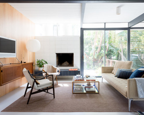 Midcentury Modern Living Room Ideas & Design Photos | Houzz