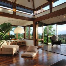 Contemporary Living Room by spAEc