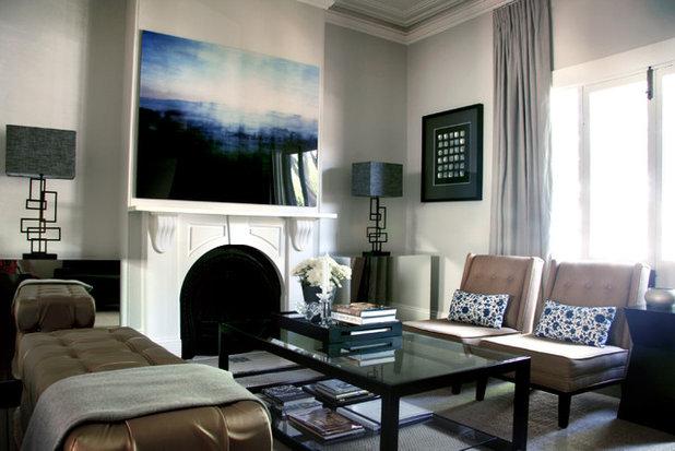 Contemporary Living Room by Darren Palmer Interiors