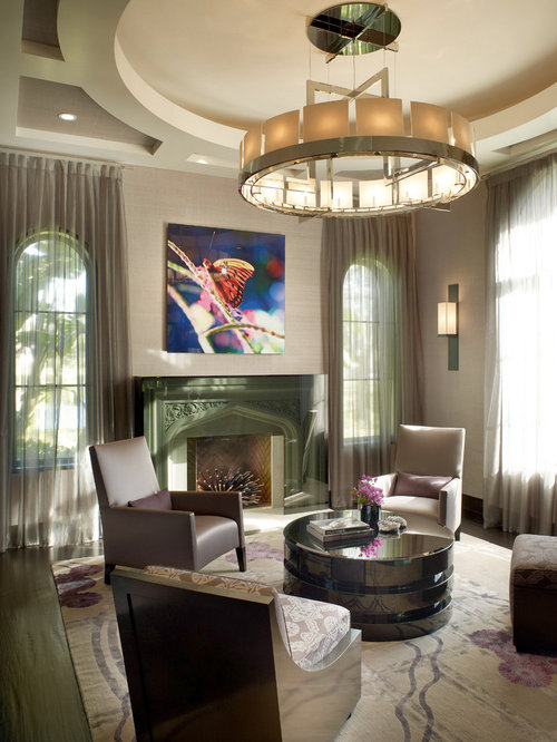 Parlor ideas pictures remodel and decor - Balance in interior design ...