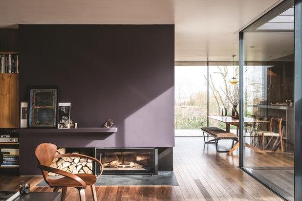 Modern Wohnbereich by Farrow & Ball