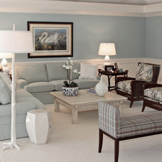 Traditional Living Room by Page 2 Design