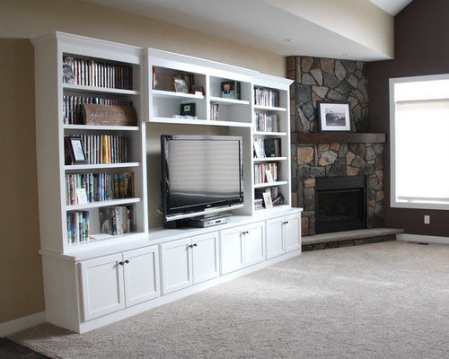 Painted Entertainment Center Home Design Ideas, Pictures, Remodel and Decor