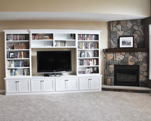 Painted Entertainment Center Home Design Ideas Pictures