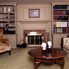 Traditional Living Room by TL King Cabinetmakers