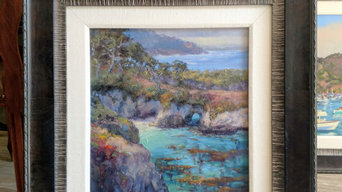 Painting Of China Cove, Carmel