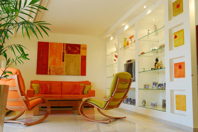 "Contemporary Living Room by ""Paissin"""