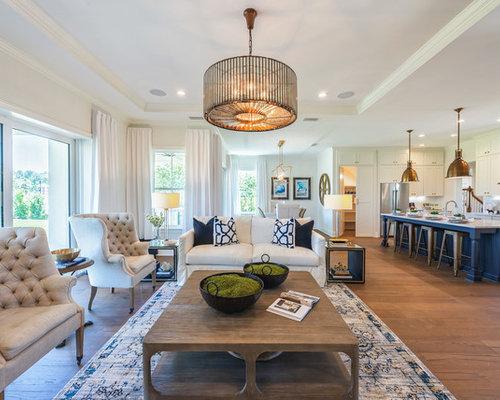 Transitional Jacksonville Living Room Design Ideas Remodels Photos Houzz