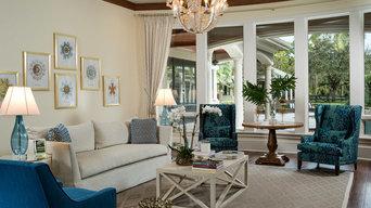 Palm Beach Gardens Luxury Living Room