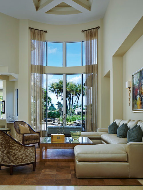 Long Window Treatments Ideas Pictures Remodel And Decor