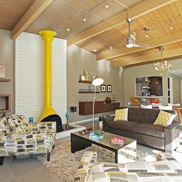Palm Springs Mid Century Living Room