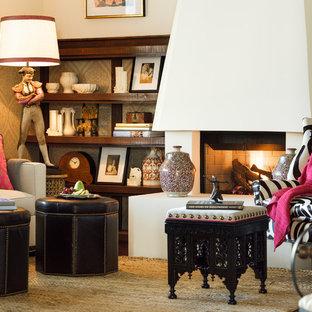Idéer för att renovera ett medelhavsstil vardagsrum