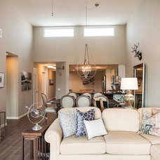 Traditional Living Room by Complete Home Transformations
