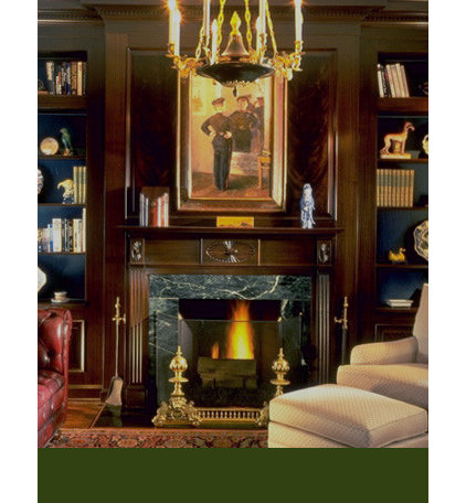 Traditional Living Room by Gerner Kronick + Valcarcel, Architects, DPC