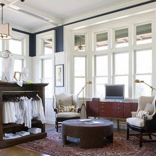Traditional Living Room by KS McRorie Interior Design