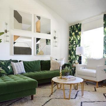 Palms Inspired Huntington Beach Home