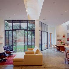 Contemporary Living Room by Drew Maran Construction