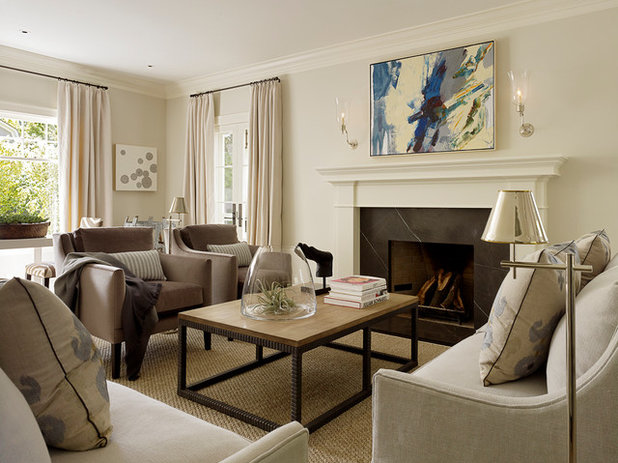 Traditional Living Room By ScavulloDesign Interiors