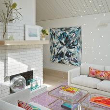Midcentury Living Room by Flegel's Construction Co., Inc.