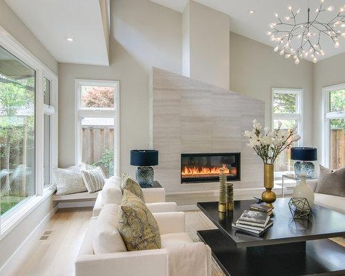 High tech living room design ideas remodels photos houzz for Hi tech living room designs