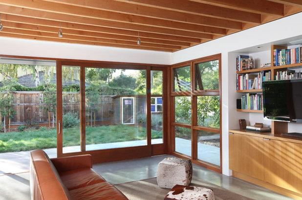Contemporáneo Salón by Arcanum Architecture
