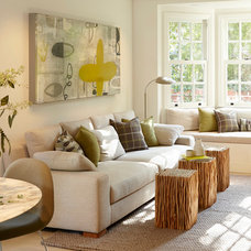 Contemporary Living Room by Pamela Pennington Studios
