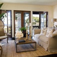 Mediterranean Living Room by Maison Luxe