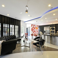 Modern Living Room by Panache Interiors