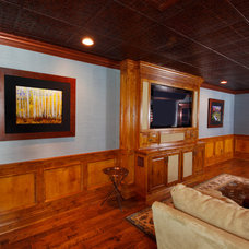Traditional Living Room by Fanatic Finish Inc.