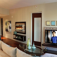 Contemporary Living Room by InsideStyle Home and Design