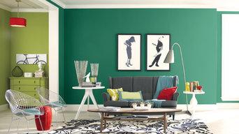 Pantone Colours in Paint