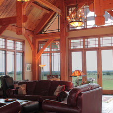 Traditional Living Room by Clydesdale Frames Co.