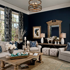 Transitional Living Room by LGB Interiors