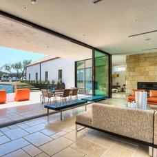 Contemporary Living Room by Progressive Solutions / Renaissance Bronze Windows