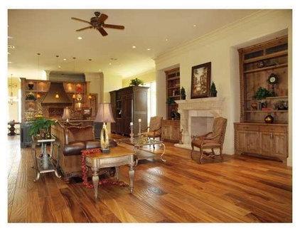 Mediterranean Living Room by Rob Sanders Designer - Custom Home/Remodel Design