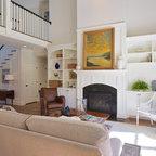 Camelia Court Beach Style Living Room Portland By