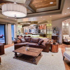 Traditional Living Room by Jaggers Home Design