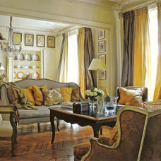 Eclectic Living Room by Myra Hoefer Design