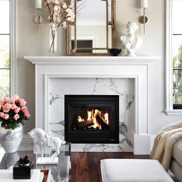 Parisian Chic- Living Room