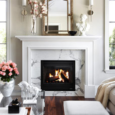 Transitional Living Room by The Design Co