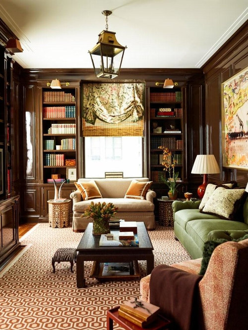 Inspiration For A Timeless Formal And Enclosed Medium Tone Wood Floor Living  Room Remodel In New Part 36
