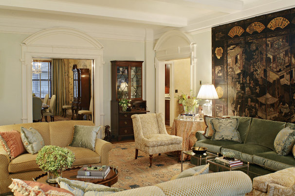 Traditional Living Room by Arden Stephenson, ASID