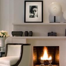Transitional Living Room by Penny Drue Baird, Dessins LLC