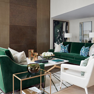 Design ideas for a traditional living room in London.
